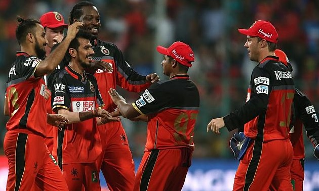 Royal Challengers Bangalore wins over Sunrisers Hyderabad