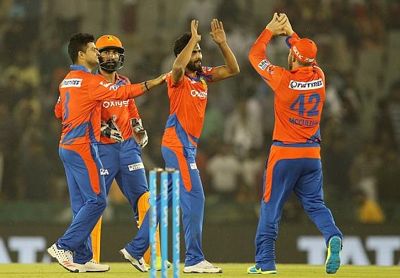 Gujarat Lions won over Punjab by 5 wickets
