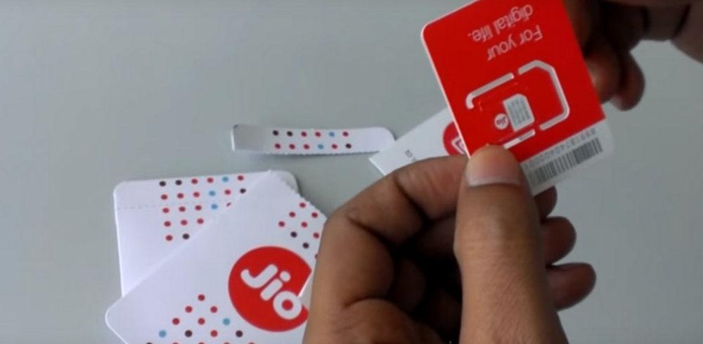 free jio 4g sim