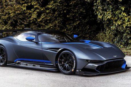 Ashton Martin F1 Cars