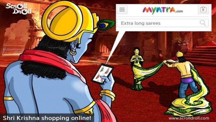 Myntra alleged of the Mythological Parody Ad, it did not create