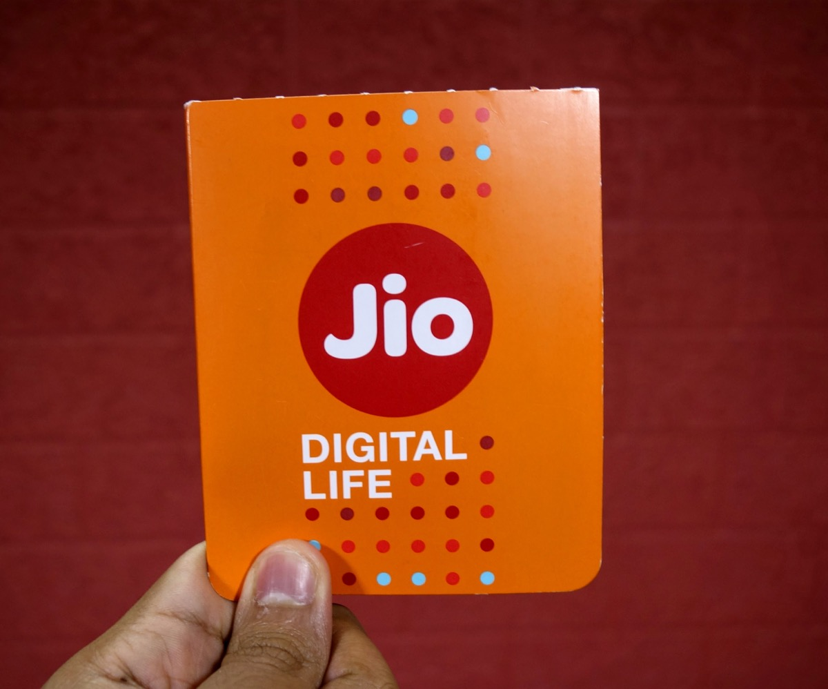 Jio SIM at your doorstep