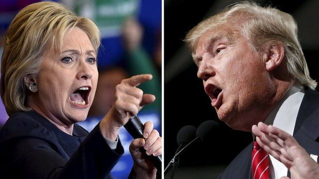 Clinton's lead over Trump shrinks in swing state polls