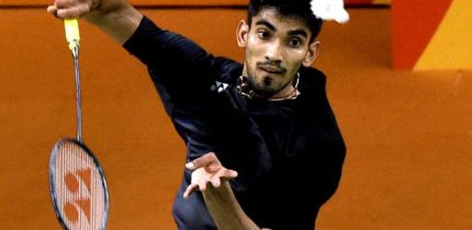 Kidambi Srikanth through to the Quarters of Japan Open, Lone Indian Survivor in the Tournament
