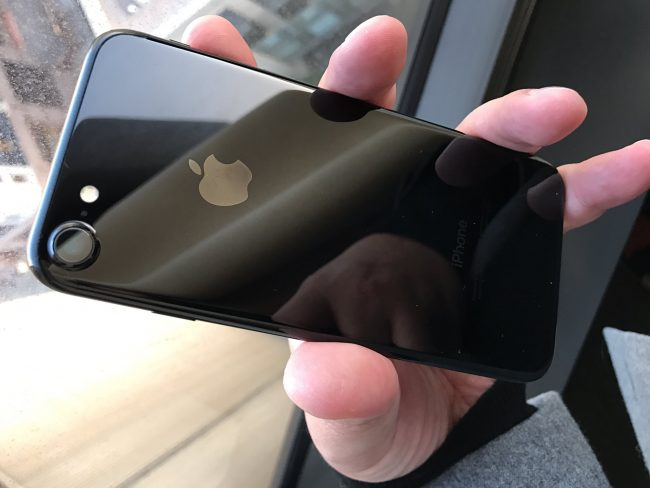 One of the issues with the iPhone 7 and 7 Plus is with Jet Black color.