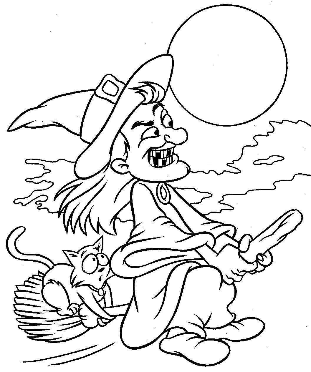 entertaining halloween colouring pages for adults teens kids