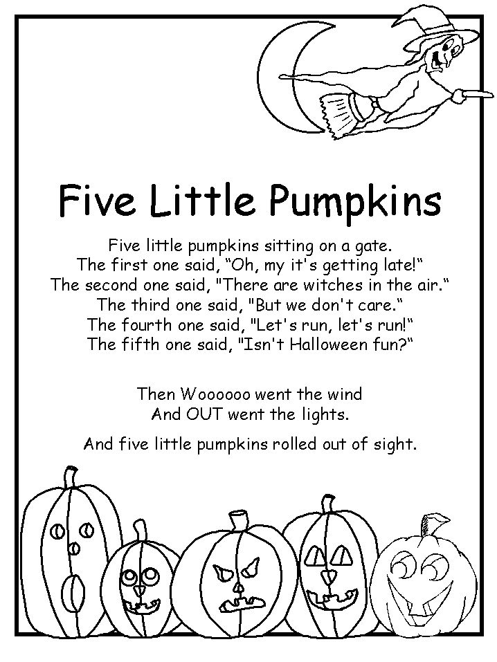 Happy Halloween Poems for Kids to recite in their Schools