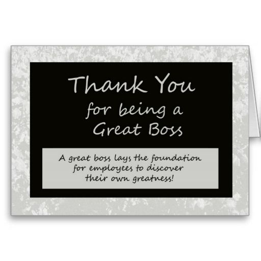 Thank You Quotes For Your Boss: Boss Day Inspirations & Thank You Quotes & Sayings To