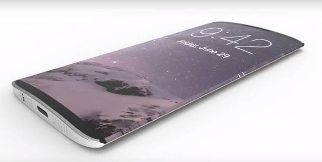 Apple iPhone 8 is expected to boost with Bezel-less Curved Display