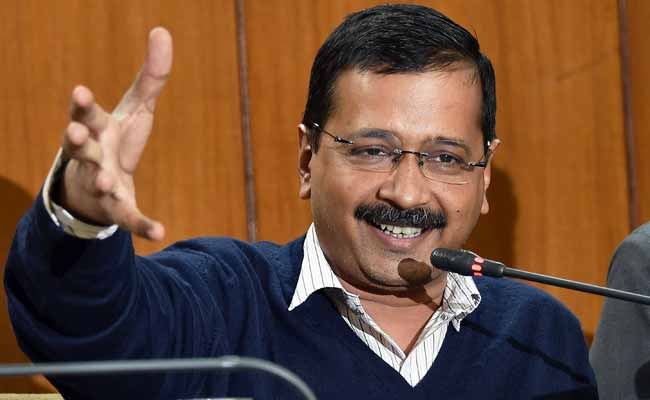 Ink thrown on Delhi CM Kejriwal, police detains two ABVP activists