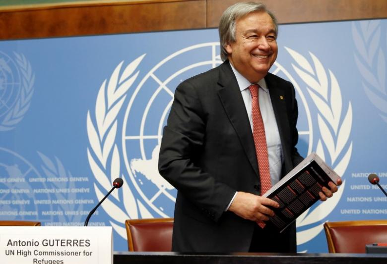 Guterres To Succeed Ban Ki Moon As UN Secretary General