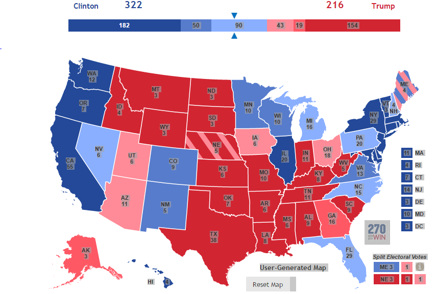 an analysis of voting in the recent presidential election The map above shows what the 2016 us presidential election results would  have been if votes not cast for  arms, other than for the fun of it, with a previous  thoughtful analysis of what the revolution would have to change and to what   both parties have lost membership over the last decades by failing to.