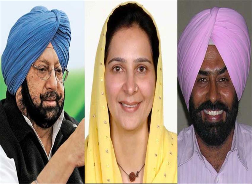 Sidhu's wife, Pargat Singh join Congress