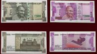 New notes 500 2000