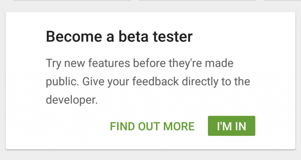 Steps to become WhatsApp Beta tester on Android Method II.
