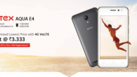 Intex Aqua E4 launched in India. It is basic smartphone for first time users.