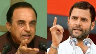 BJP MP Subramanian Swamy Mocked Rahul Gandhi Over OROP Remark, Calls Him An Uneducated