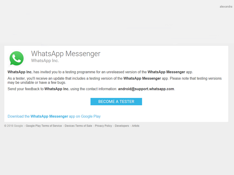 Steps to become WhatsApp Beta tester on Adnroid.