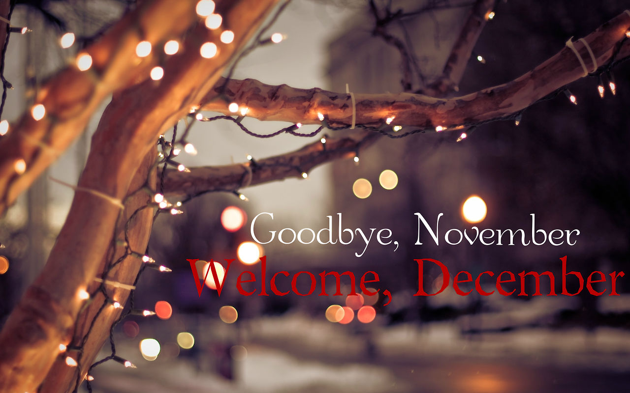 Amazing Good Bye November And Hello December Pictures