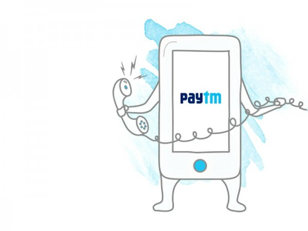 Non-smartphone users can also go cashless with Paytm