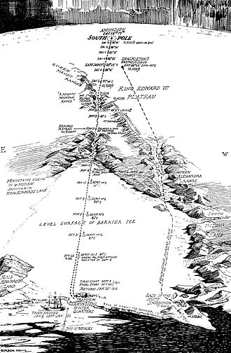 Roald Amundsen Facts : Amundsen Map