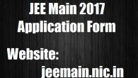 JEE 2017 Changes