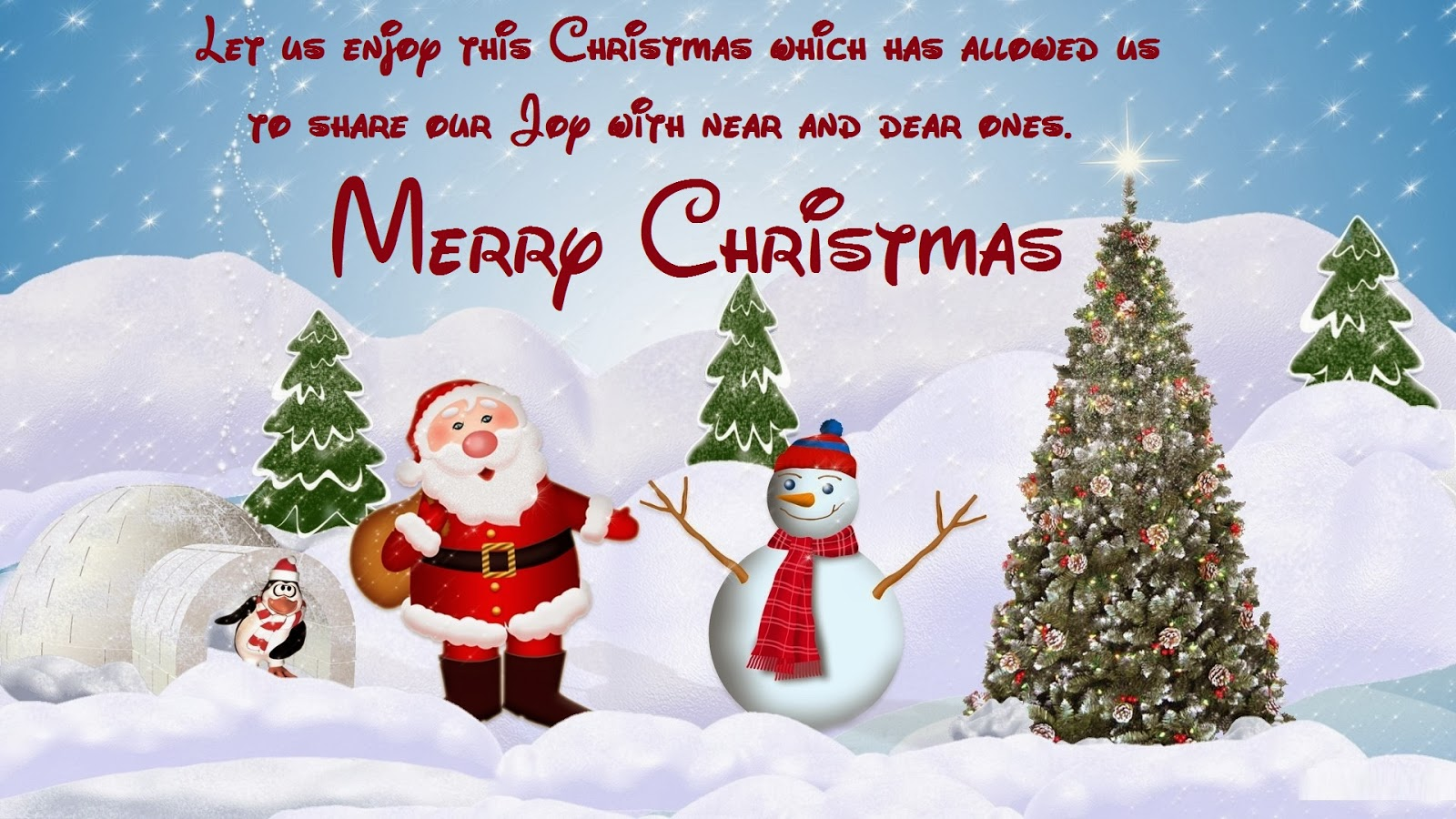 Merry Christmas WhatsApp, Facebook Status, DP, Messages for the ...