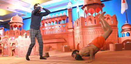 Baba Ramdev Stumps Ranveer Singh