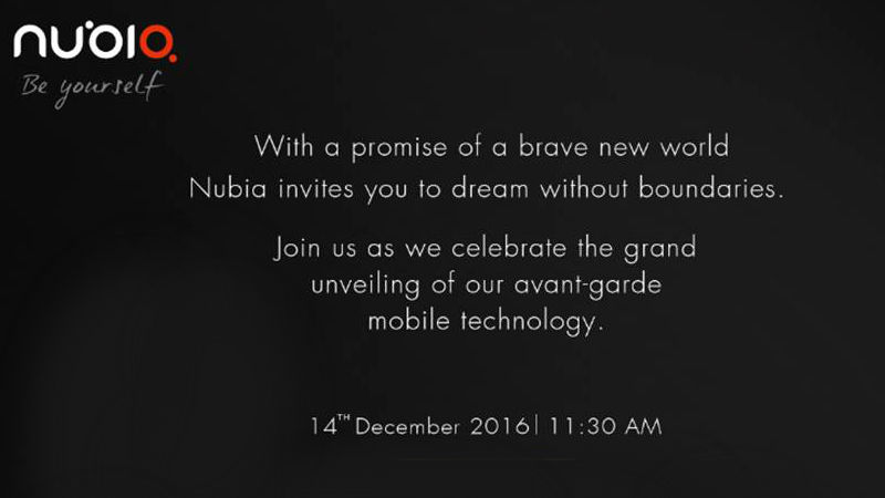 Nubia to unveil the Z11 and N1 Android smartphones on December 14