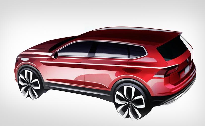 Volkswagen Tiguan 'Allspace' 2017 Teased; Next-Gen Car Set for Launch in January 2017