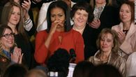 Michelle Obama last speech: Teary-eyed Michelle Obama signs off in her last speech as First Lady of America