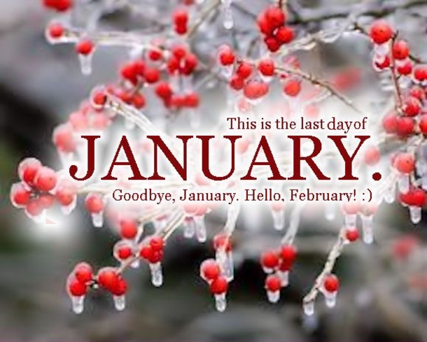 Goodbye January Welcome February Quotes Images To Share