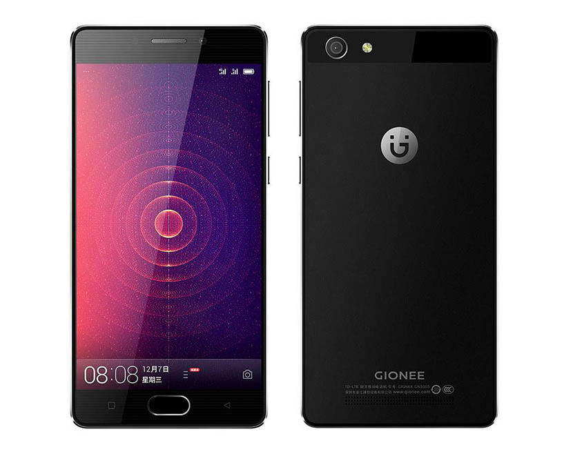 Gionee Steel 2 Smartphone with 3GB RAM and 4000mAh Battery Launched