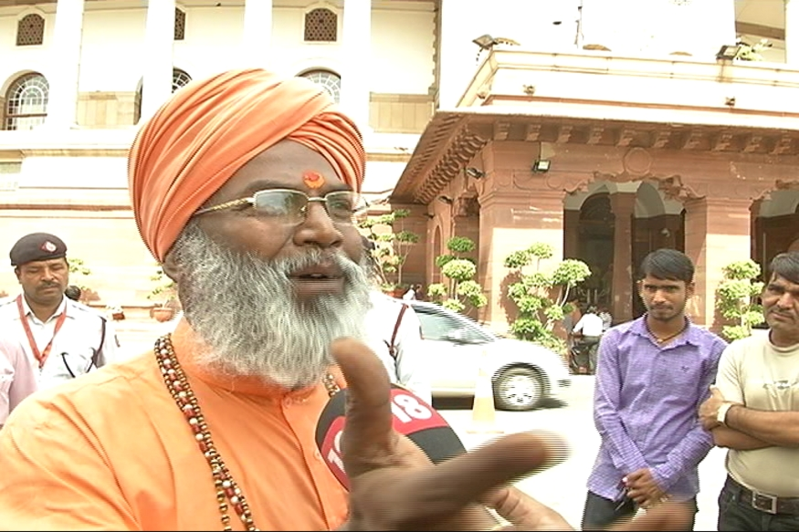 EC showcause notice to Sakshi Maharaj on his inflammable remarks, seeks reply by Wednesday Morning