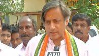 Shashsi Tharoor detained for protesting outside RBI against Demonetisation, released