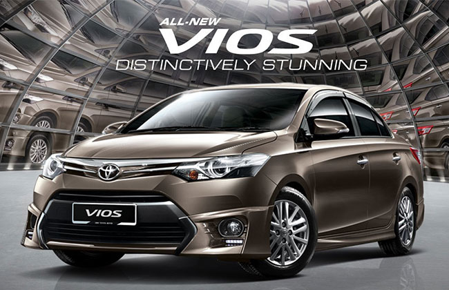 All-New 2017 Toyota Vios Facelift Sedan Car Launched; Check out Specifications and Price