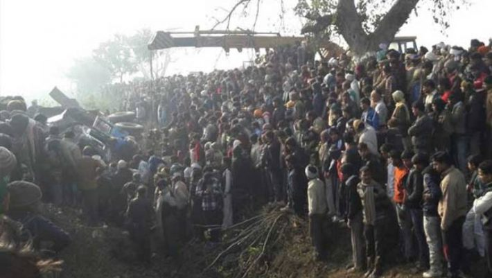 Etah road accident: over 20 Children died and several critically injured in a Truck-bus collision