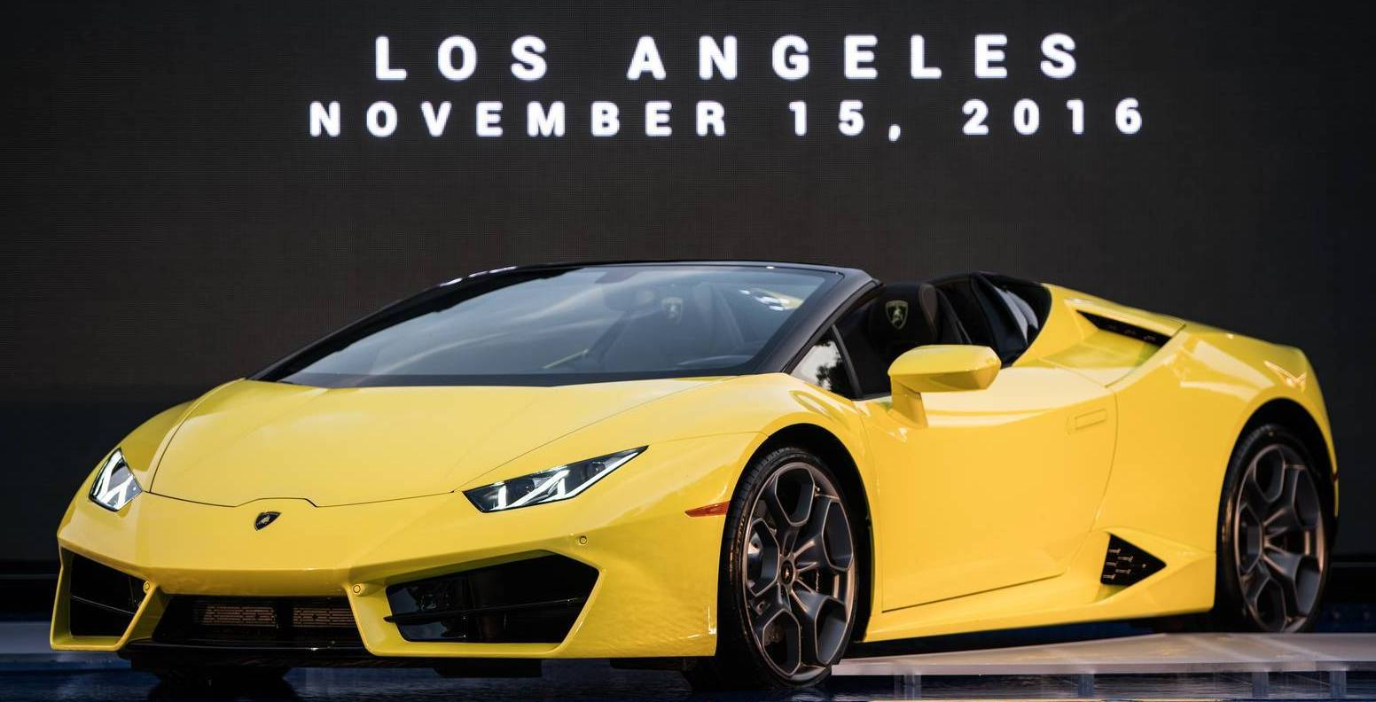 Lamborghini Huracan Spyder RWD with a Price Tag of Rs 3.45 Cr Launched in India