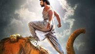 Baahubali 2 New Poster Unveiled with Prabhas standing on the head of an Elephant