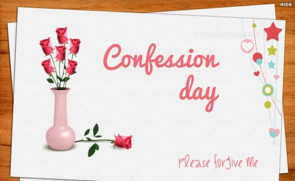Happy Confession Day Quotes