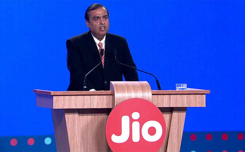 Mukesh Ambani: Jio beats giants like Facebook and Whatsapp and Skype in subscriber addition rates