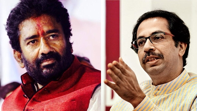 Shiv Sena MP Ravindra Gaikwad travels by car to attend Parliament session