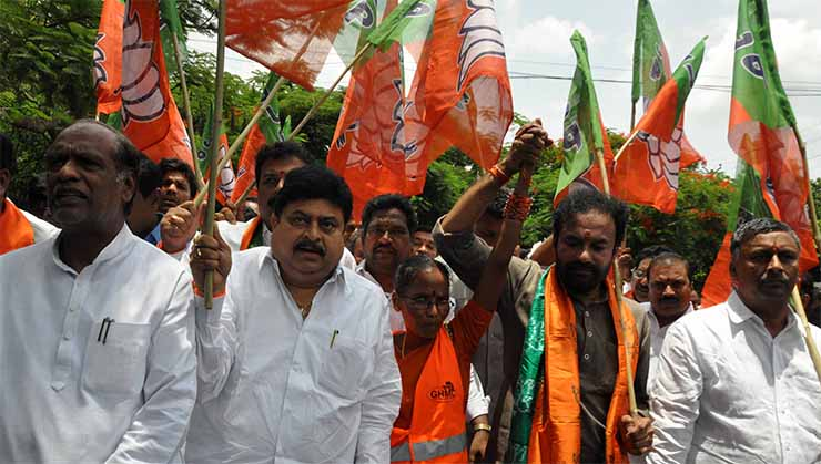 Telangana: Five BJP legislators suspended by Speaker in Tamil Nadu