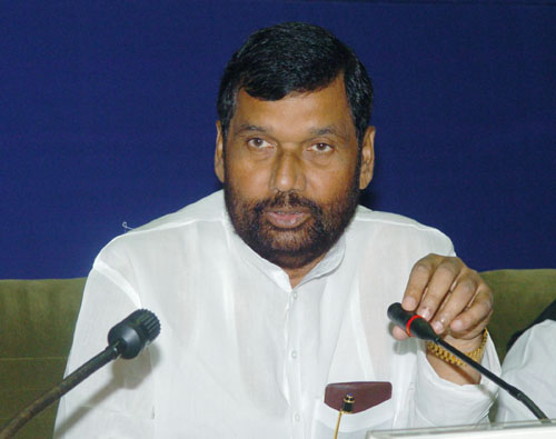 Ram Vilas Paswan: No packaged water will be sold more than MRP at airport and hotels
