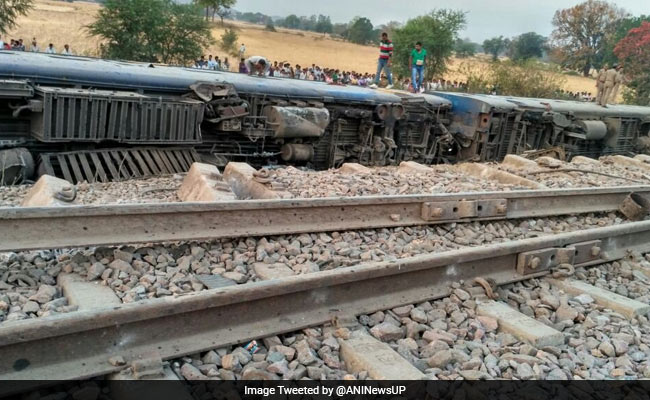 Mahakaushal Express derails: 36 passengers injured, 10 serious