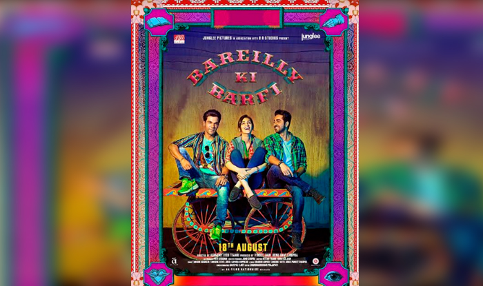 Bareilly Ki Barfi Poster Released, Kriti Sanon, Ayushmann Khurrana and Rajkummar Rao look Fab