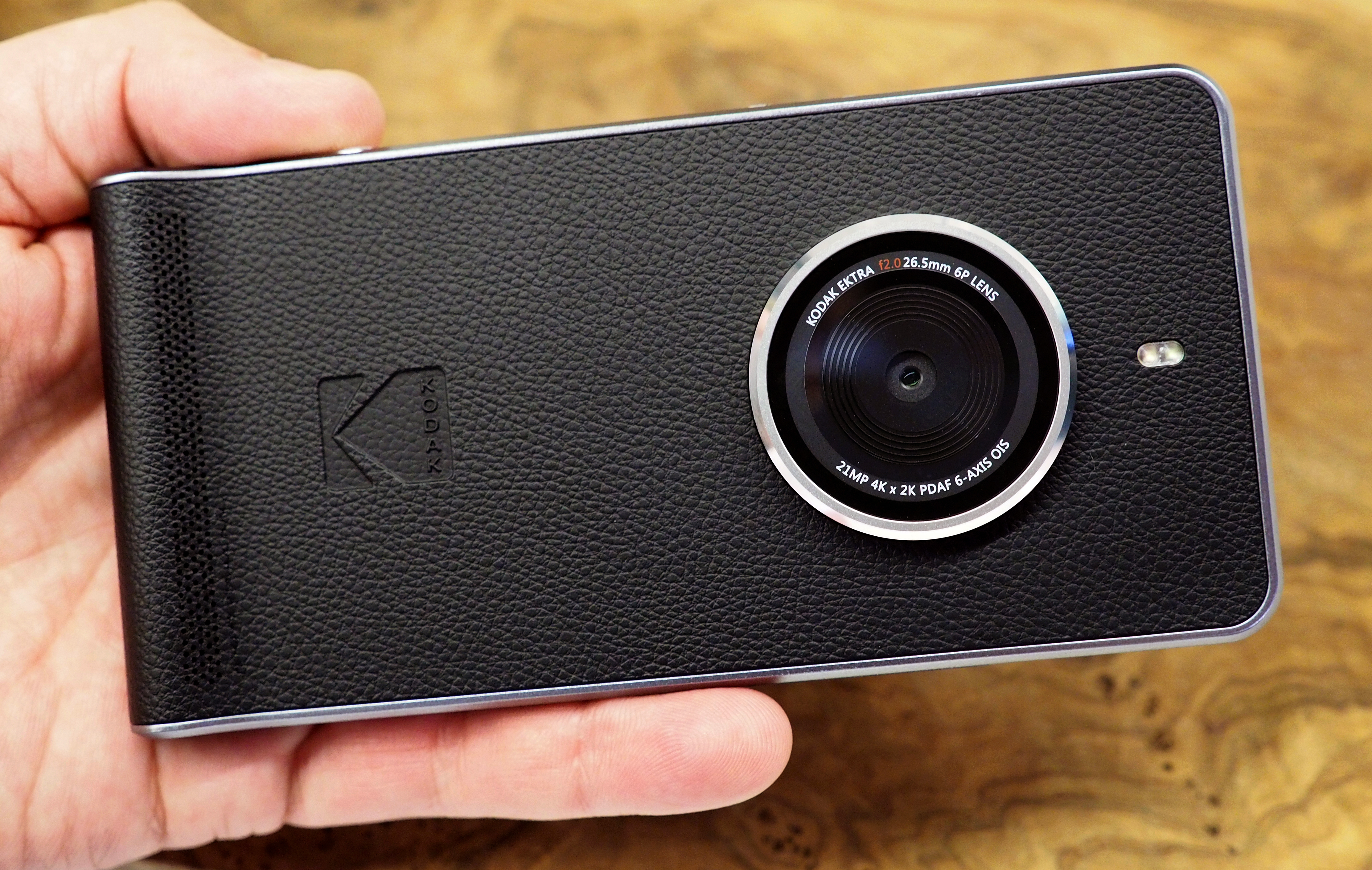 Kodak Ektra Smartphone launched in India at a Price of Rs. 19,990