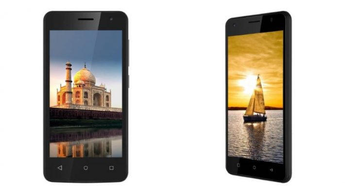 iVoomi Me4 Smartphone launched in India at Rs. Rs. 3,499 along with iVoomi Me5